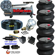 V 480c Air Compressor Ride 200psi Rate All Pictured 4 2600 Airspring Bags
