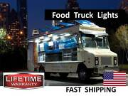 Food Truck And Hot Dog Cart Led Lighting Kit -- Super Bright -- Stainless Steel
