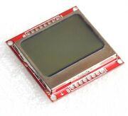 10 Pcs 8448 Lcd Module White Backlight Adapter Pcb For Nokia 5110 New S3