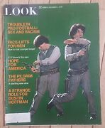 Look Magazine December 1 1970 Man Face Lifts Pilgram Fathers Hope For America