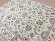 8 X 10.4 Beige Ziegler Oriental Area Rug Hand Knotted All Over Wool