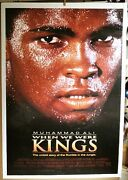 Muhammad Ali When We Were Kings Linen Mounted 27 X 41 Poster Price Reduced