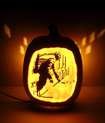 Silent Hill 4 The Room - James Ghost Hand-carved Foam Pumpkin 12