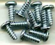 S319 Screws 10 For American Flyer Diesel Steam Engine Plastic Chassis Trains