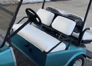 Club Car Pre-2000 Ds Staple On Golf Cart Front Seat Cover Set Solid Color