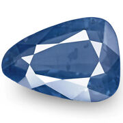 Igi Certified Burma Blue Sapphire 3.44 Cts Natural Untreated Rich Velvety Blue