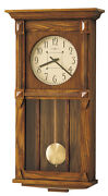 620-185 The Ashbee Ii -howard Miller Dual Chime Wall Clock -made In Usa 620185