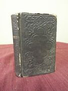 1864 Kjv New Testament Bible. Published By American Bible Society, New York.