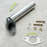 35mm/38mm Turbo Downpipe Wastegate Dump Tube Elbow Actuator Pipe Kit Stainless