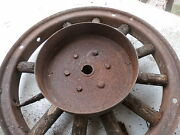 Antique Wood Wheel 20and039s 30and039s Rear Drum Brake 11 X 21/2inch Gm Mopar Nash Stude