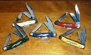 Schrade Walden Knife 1 Of Your Pick 5 American Eagle Knives To Choose From
