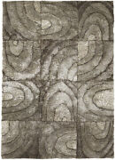 5x8and039 Chandra Rug Flemish Hand-woven Contemporary Shag Polyester Fle51104-576