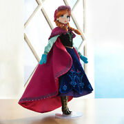 Limited Edition Disney Nordic Anna Frozen Doll 17 Le 5000 New