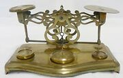Vintage Solid Brass Balance Scale