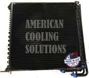 22152 Triple Oil Cooler And Condenser Afh202216 For John Deere A400 Windrower