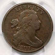 1803 S-259 R-4 Pcgs Vf 20 Sm Date Lg Frac Draped Bust Large Cent Coin 1c