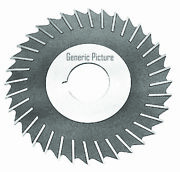 12 X 3/16 X 1-1/4 Hss Metal Slitting Saw With Side Chip Clearance