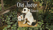 Vintage Signs Old Judge Dog Canine Tobacco Advertising Wall Decor Metal Sign New