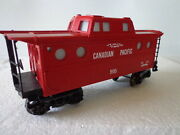 Lionel O And 027 Rolling Stock Canadian Pacific Lighted Caboose 9165
