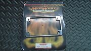 Midwest Motorcycle Supply Chrome License Plate Frame 11-37