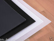 Correx Corrugated Plastic Floor Protection Sheets X 10 Trans White Made In Uk