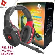 Universal Wireless Gaming Stereo Headset - Ps3 Ps4 Xbox 360 Pc Free Shipping New