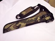 Camouflage Left Hand Draw Bandoleer Holster For Rossi Ranch Hand W/ 12 Barrel