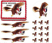 Eagle Scout Court Of Honor Ceremony Eagle Fly Edible Cake Topper - All Sizes