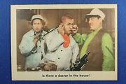 1959 Fleer - 3 Stooges - 83 Is There A Doctor In The House - Nr-mt