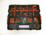 504 Pc Black Deutsch Dt Connector Kit - Stamped Terminals + Removal Tools,