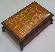 Reuge Music Baroque Music Box With 3.50 Note Movement-mozartbocherinihaydn