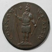 1788 12-m R4- Stout Indian Massachusetts Cent Colonial Copper Coin