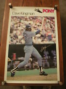 Dave Kingman Si Sports Illustrated Poster Chicago Cubs - Pony Advertising
