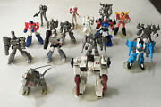 G1 Transformers Takara Hoc / Scf Act 4 Pvc Loose With Chase 14 Figures