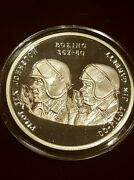 Rare Low Mintage 1000 1 Oz Silver Proof Commemorative Gold Cup Barrel Roll