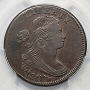 1807 S-275 Pcgs Xf 40 Large Fraction Draped Bust Large Cent Coin 1c
