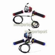 Racing Carb Air Filter Throttle Grips Cable Switch 50 60 80 Cc Motorized Bicycle