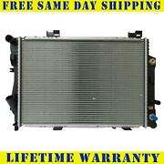 Radiator For 1994-1997 Mercedes-benz C280 C36 Amg 2.8l 3.6l Fast Free Shipping