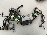 Johnson Evinrude Motor Harness Cable Assy 386328 Bracket Electrial Comp 317616