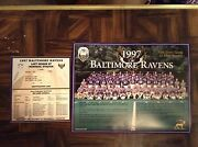 1997 Baltimore Ravens Team Photo And Schedule