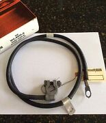 Nos Ford D0zz D0oz-14301-d 1970 Mach 1 Mustang 428 Cj And 351-4v Negative Cable