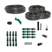 Drip Tape Irrigation Kit For Row Crops And Gardens Premium Size