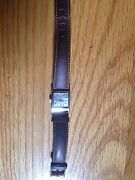 Womenand039s Emporio Armani Brown Leather Watch