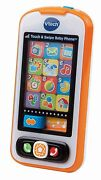 Baby Kids Educational Learning Toy Touch And Swipe Music Phone New Free Shipping