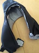 Porsche 991 And Boxster Cayman Replacement Seat Back In Black Leather Lll - New