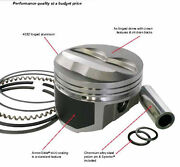 Wiseco Pro Tru Forged Ford 351c/460 Oldsmobile 455 Pistons W/ringspinsspirolox