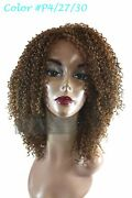 Synthetic Full Curly Medium Length Afrocentric Dessa Wig