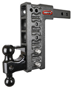 Gen-y Gh-525 16,000 Lb 10 Drop/raise Hitch 2 Receiver, Dual Ball, And Pintle