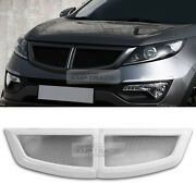 Front T Radiator Tuning Grille Cover Painted Parts For Kia 2011-2016 Sportage R