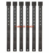 6x Lot Tactical Tailor - Long Black Malice Clips 6 Pack - Molle Kydex Otw New